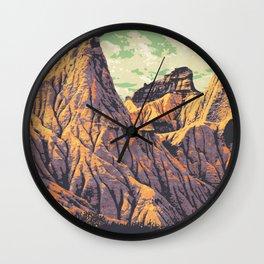 Dinosaur Provincial Park Wall Clock