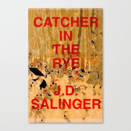 J.D. Salinger, Catcher in the Rye Canvas Print