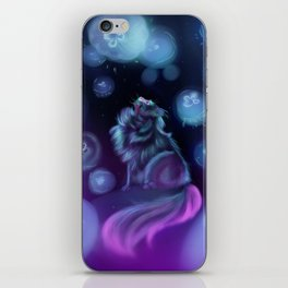 Moon Jellies iPhone Skin