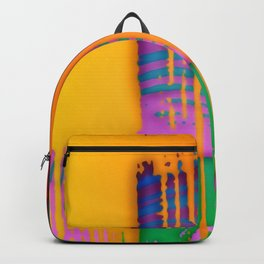 Wet paint! ... Backpack