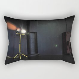 Garage Lights on Stage Rectangular Pillow