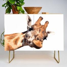 Giraffe portrait Credenza