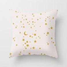 GOLD SKY Throw Pillow