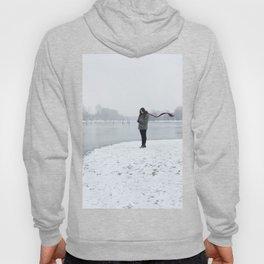 Girl on Snow Hoody