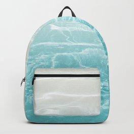 Soft Blue Gray Ocean Dream #1 #water #decor #art #society6 Backpack