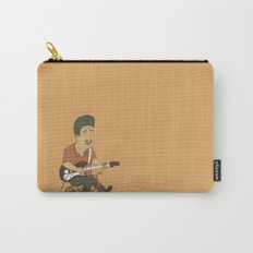 Muddy Waters riding a small bicycle Carry-All Pouch
