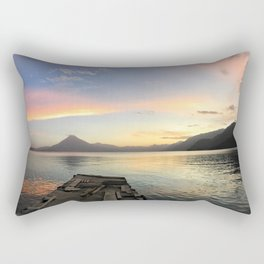 Lake Atitlan Sunsets Rectangular Pillow