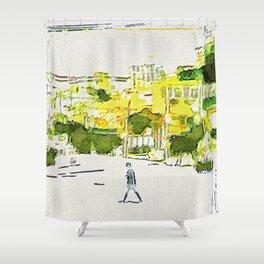 Dapsimni-dong Shower Curtain