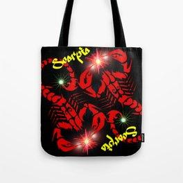 Scorpio Astrology Sign Tote Bag