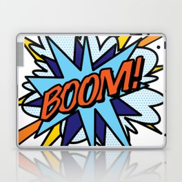 BOOM Comic Book Flash Pop Art Cool Fun Graphic Typography Laptop & iPad Skin