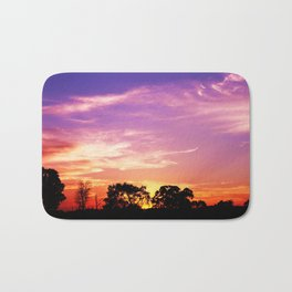 East Texas Sunset Bath Mat