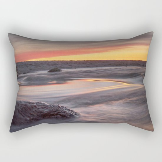 Sound of the sea Rectangular Pillow