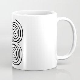 Newgrange Celtic Triskelion Coffee Mug