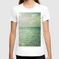 irish T-shirts featuring Sea of Happiness by Olivia Joy StClaire