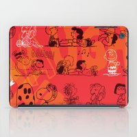 snoopy iPad Cases featuring SNOOPY AAUGH! by d.ts