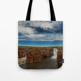 King George Waterfall Tote Bag