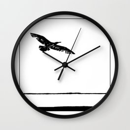 flying into the unknown Wall Clock