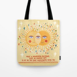 What a wonderful blessing Tote Bag