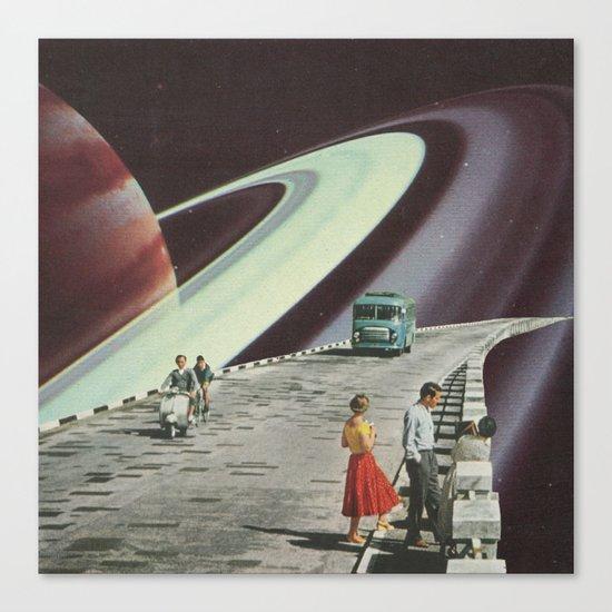 Ring Road Canvas Print