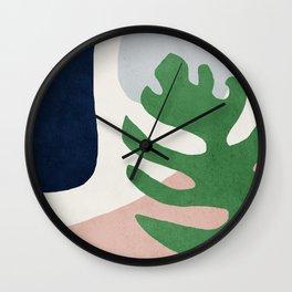 Abstract art, Mid century modern wall art Wall Clock