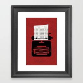 The Shining 01 Framed Art Print