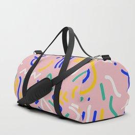 Memphis Pattern #12 Duffle Bag