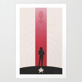 Janeway Art Print