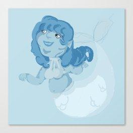 Blue Mermaid Canvas Print