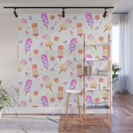 Popsicles | Ice Lolly | Ice Cream | Summer | Fruit Wall Mural
