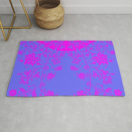 floral ornaments pattern ryip60 Rug