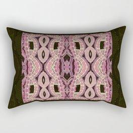 Roses and Sage Rectangular Pillow