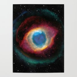 Helix (Eye of God) Nebula Poster