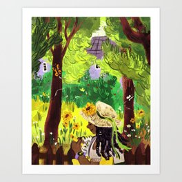 Artist in the Sunshine Art Print