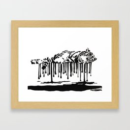 Cruel Framed Art Print