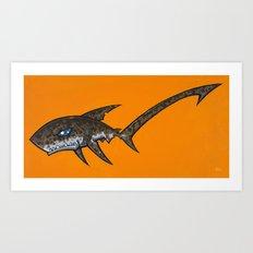 Pelagic Thresher Shark Art Print