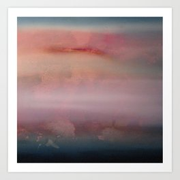 Between You and I Lies a Lullaby Beneath an Afternoon Art Print