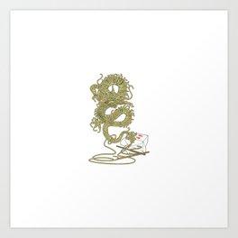 Dragon Flavor Art Print