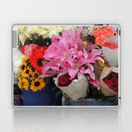 Cuenca Flower Market Laptop & iPad Skin
