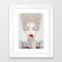 """""""Porcelain"""" Framed Art Print"""