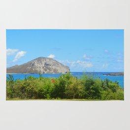 Hawaii Island Photo Rug