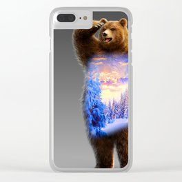 Great Bear Clear iPhone Case
