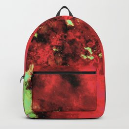 Watermelon Galaxy Backpack