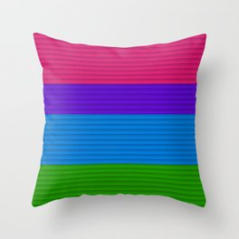 Straws Cool Throw Pillow