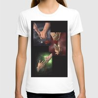 dragon age T-shirts featuring Dragon Age Romance Trilogy by maeveschild