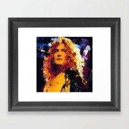 Robert Plant Framed Art Print