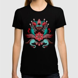 Kurbits Red/Turquoise T-shirt