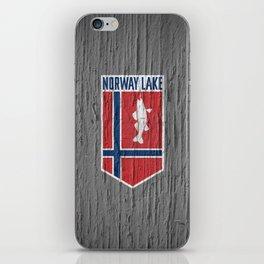 NORWAY LAKE / Sunburg / 2,327 acres iPhone Skin