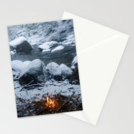 Vermont Winter Stationery Cards