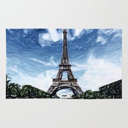 The Eiffel Tower Rug