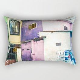 Aquarelle City Rectangular Pillow